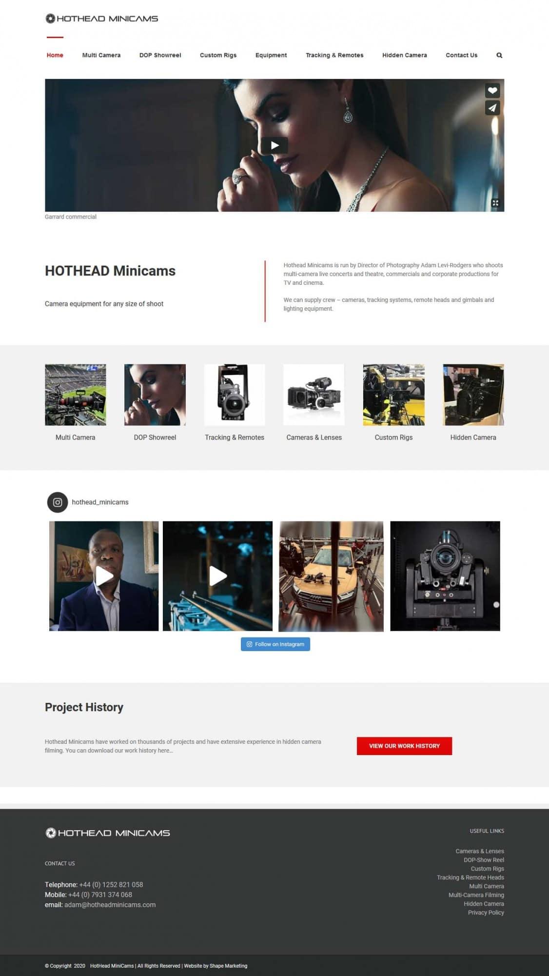 HotHead MiniCams
