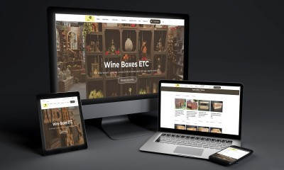 Wineboxes Etc Website by Shape